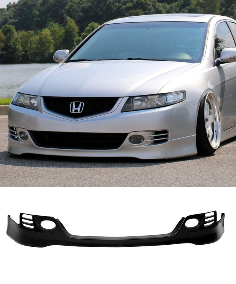 Honda Accord Euro CL9 - Euro R Style Front Bumper Lip (06-08) - ELITE GARAGE