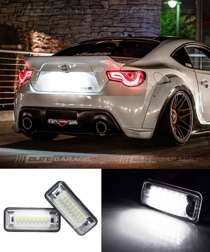 Toyota 86 / Subaru BRZ - Rear License Plate LED (12-19) - ELITE GARAGE