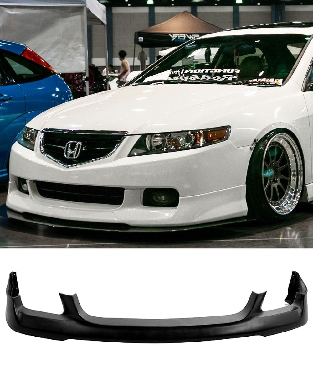 Honda Accord Euro CL9 - ASPEC Style Front Bumper Lip (03-05) - ELITE GARAGE