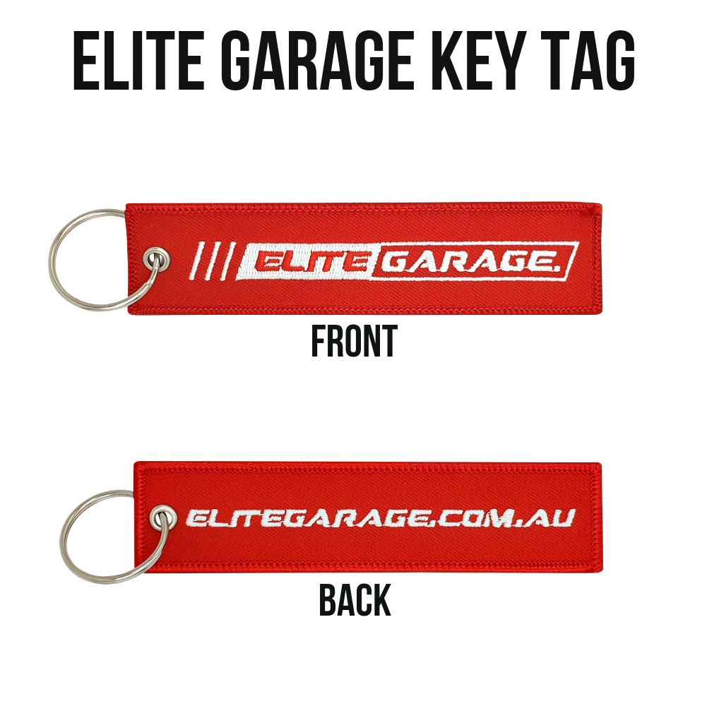 Elite Garage - Key Tag (RED) - ELITE GARAGE