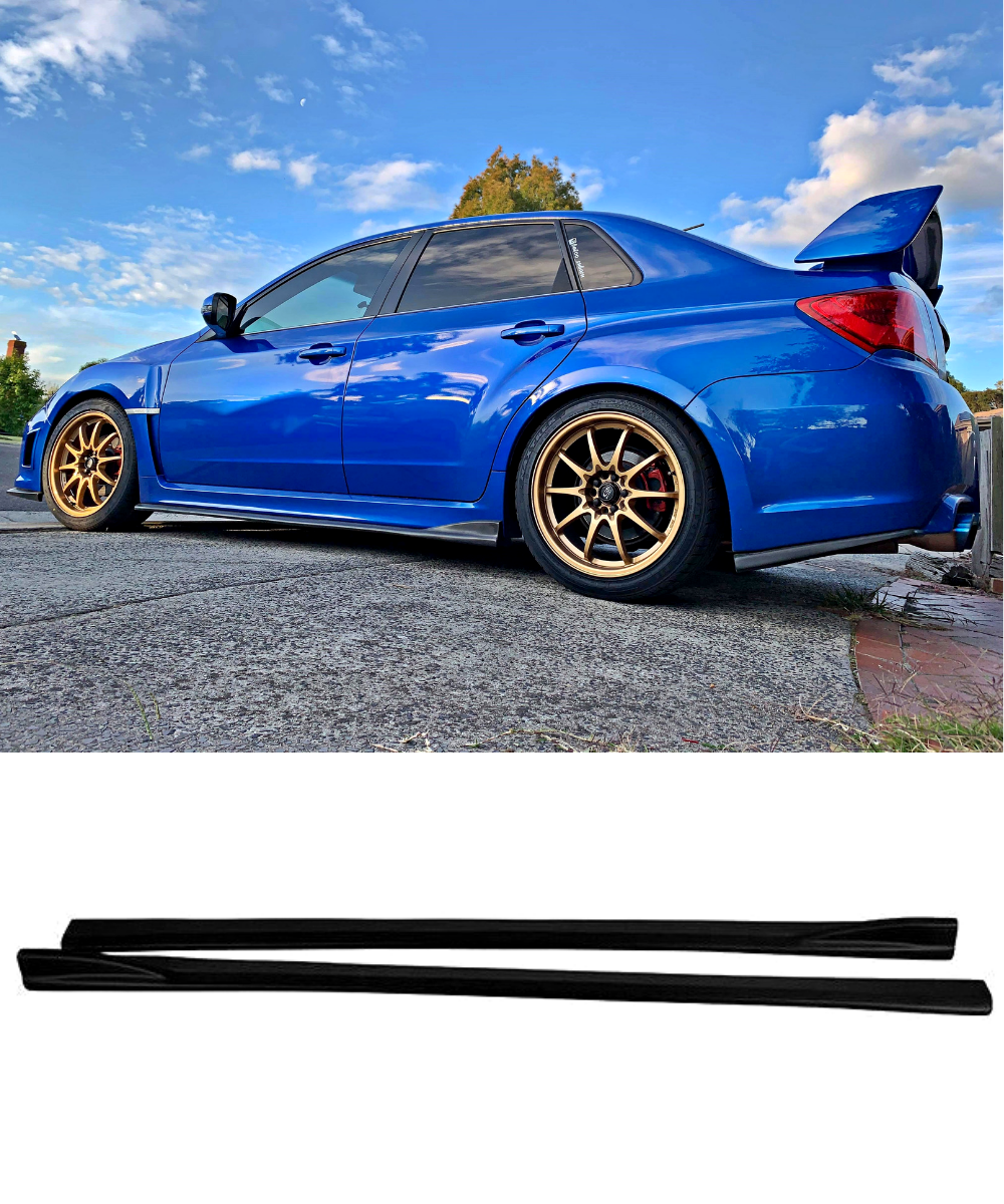 Subaru Impreza WRX STI - Side Skirts (CHARGESPEED STYLE) (08-14) - ELITE GARAGE