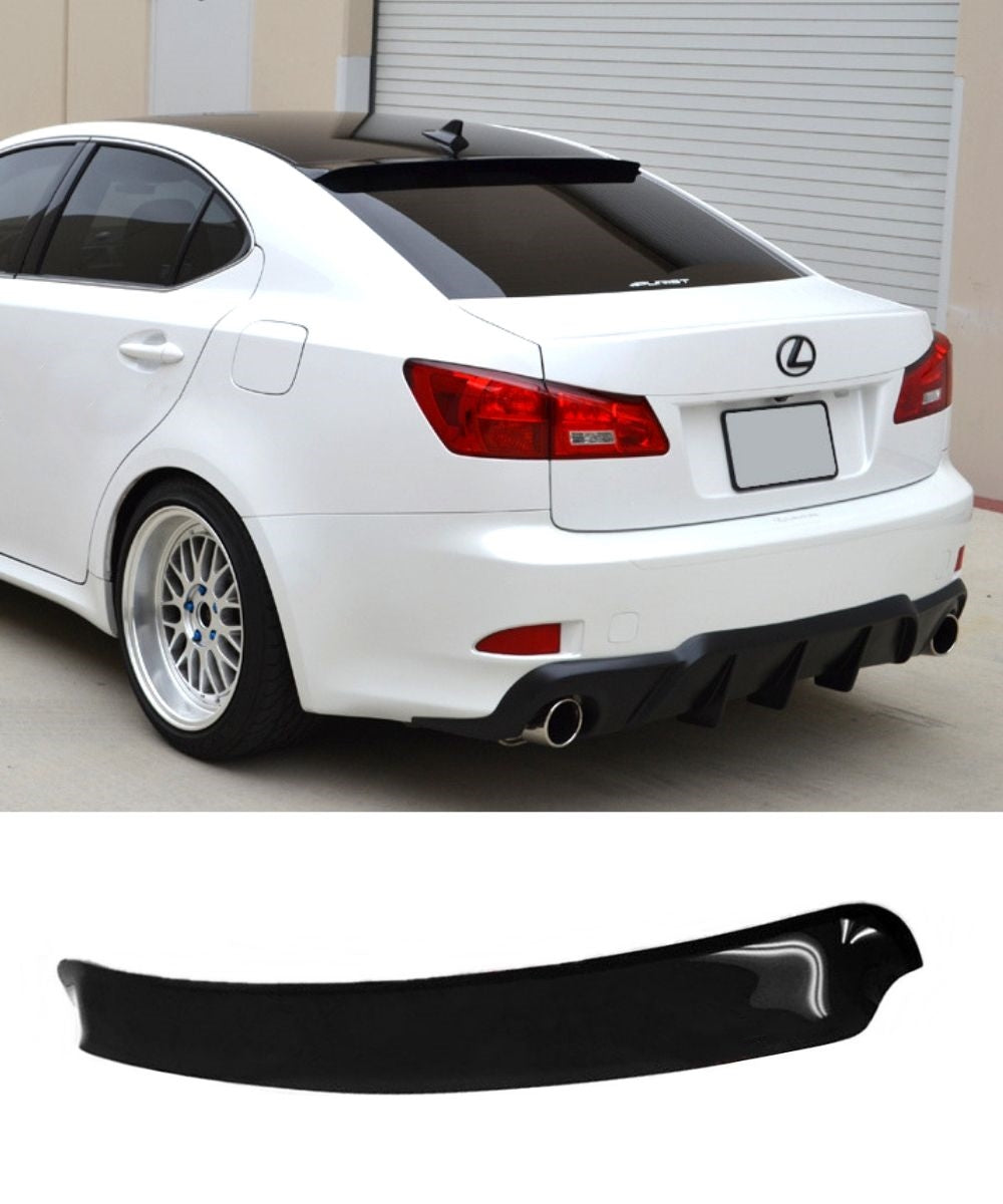 Lexus IS250 / IS350 Altezza (06-12) Rear Roof Visor Spoiler Weathershields - ELITE GARAGE