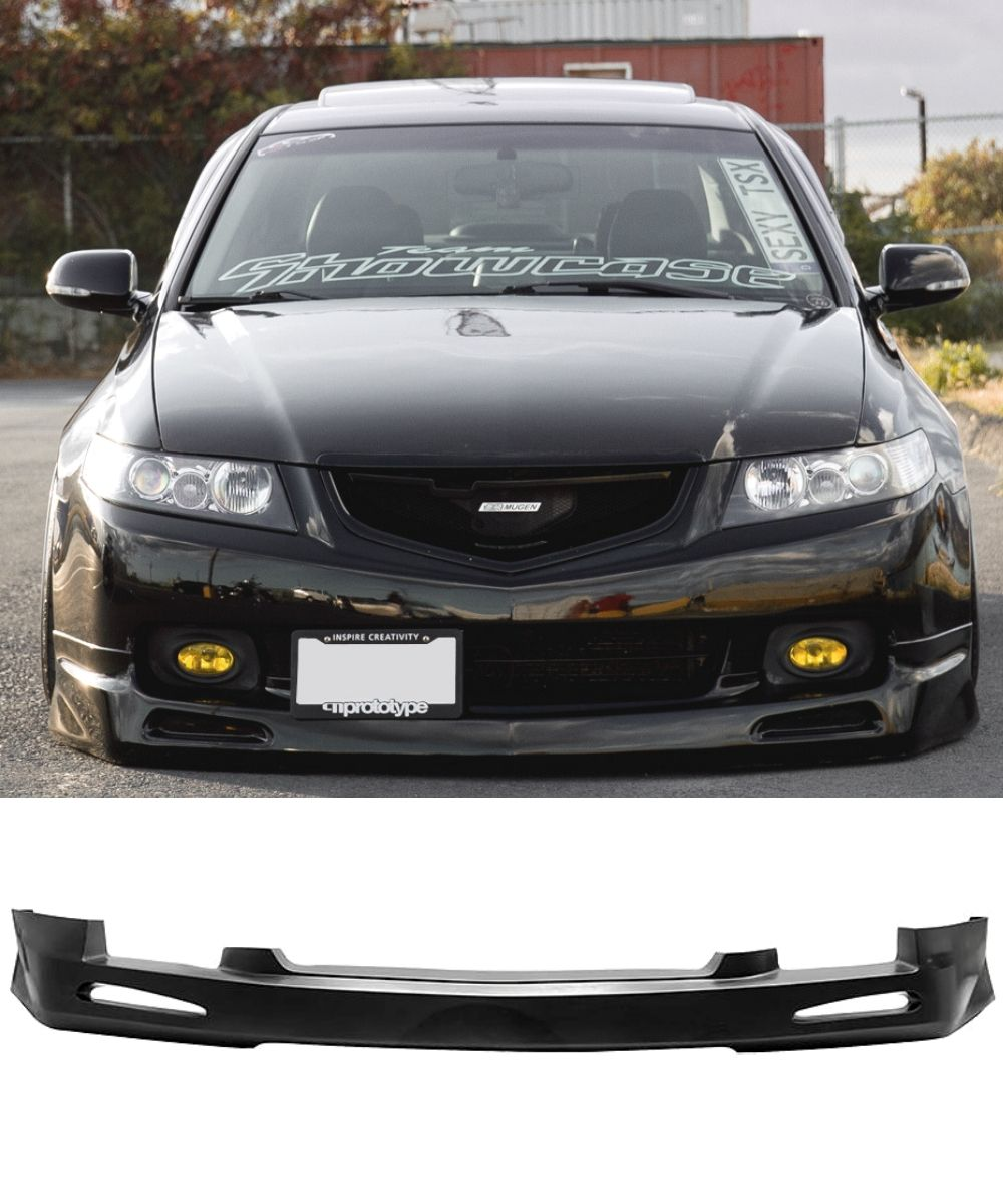 Honda Accord Euro CL9 - Mugen Style Front Bumper Lip (03-05) - ELITE GARAGE
