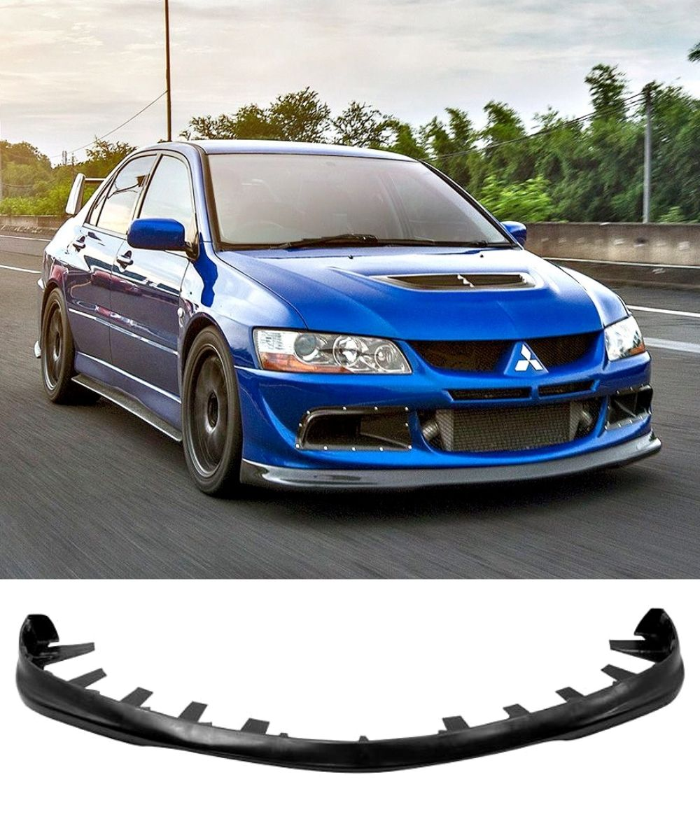 Mitsubishi Lancer Evolution 8 - Front Lip (DO-LUCK STYLE) (03-05) - ELITE GARAGE
