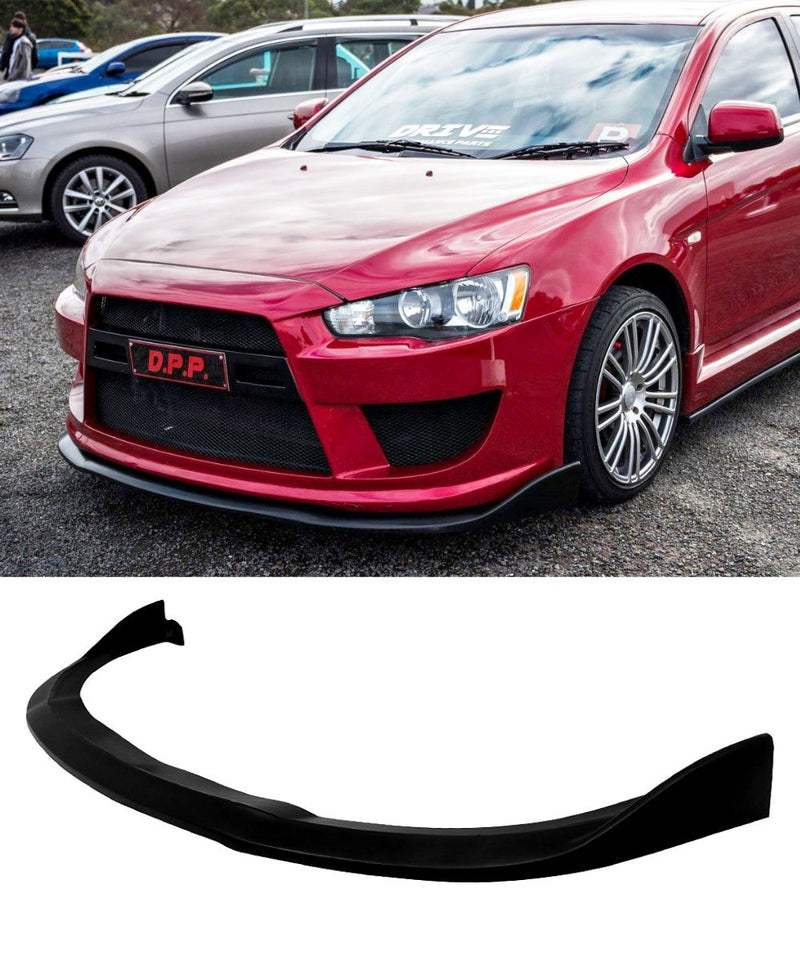 Mitsubishi Lancer Ralliart CJ GT - Universal Front Lip (CS Style) (09-15) - ELITE GARAGE