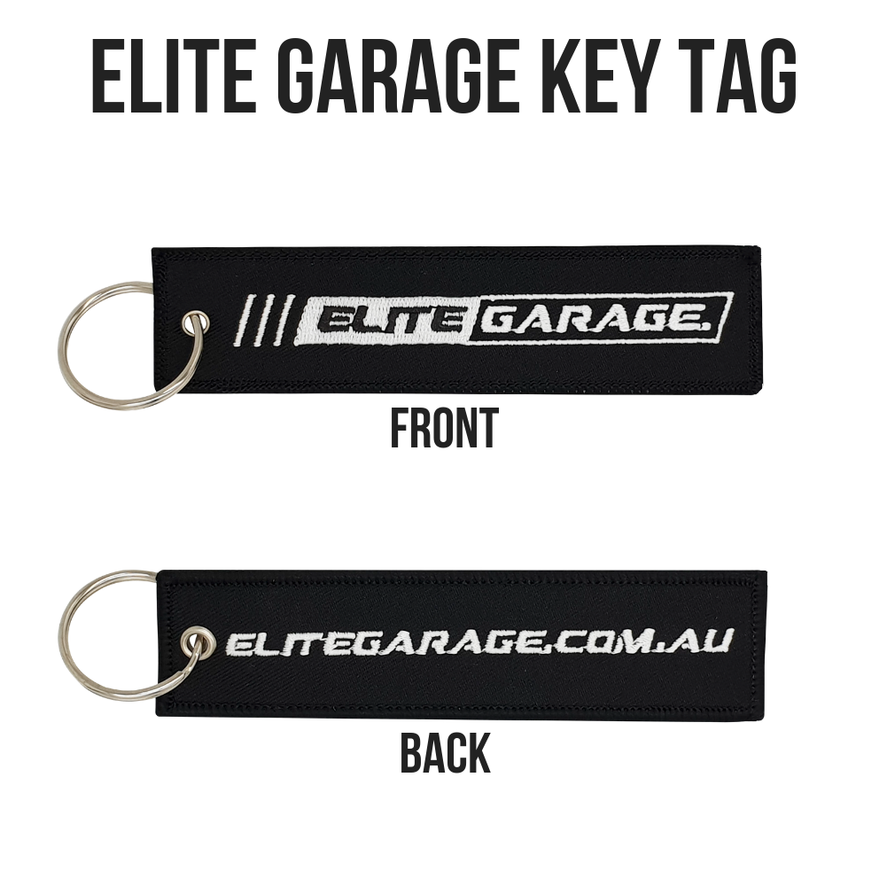 Elite Garage - Key Tag (BLACK) - ELITE GARAGE