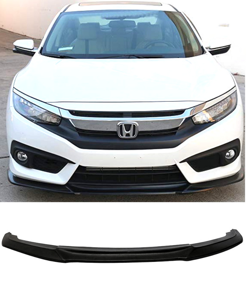 Honda Civic FK7 - Front Lip (GT Style) (16-17) - ELITE GARAGE