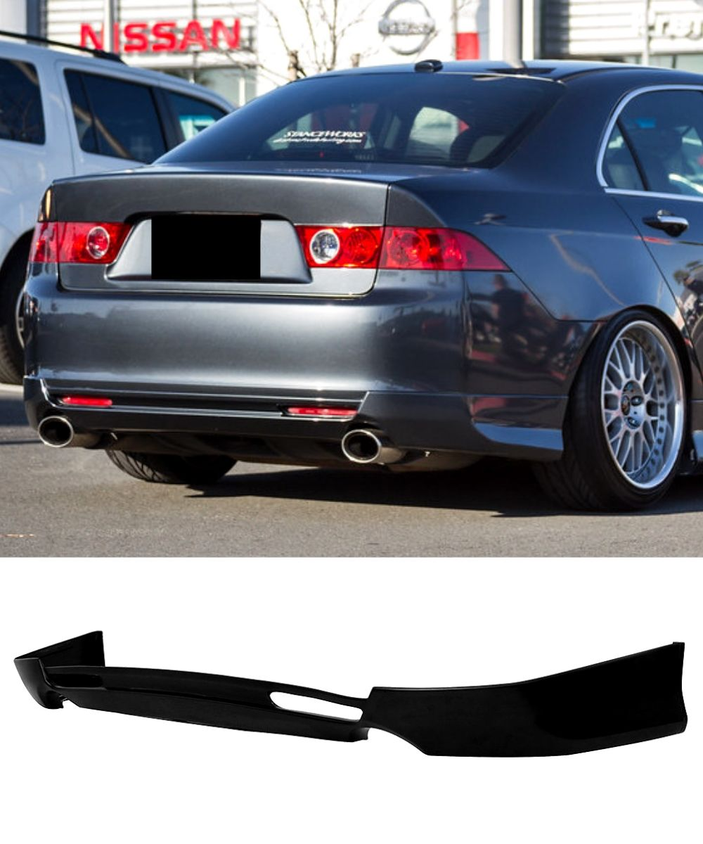 Honda Accord Euro CL9 - Rear Lip (APEC Style) (03-05) - ELITE GARAGE