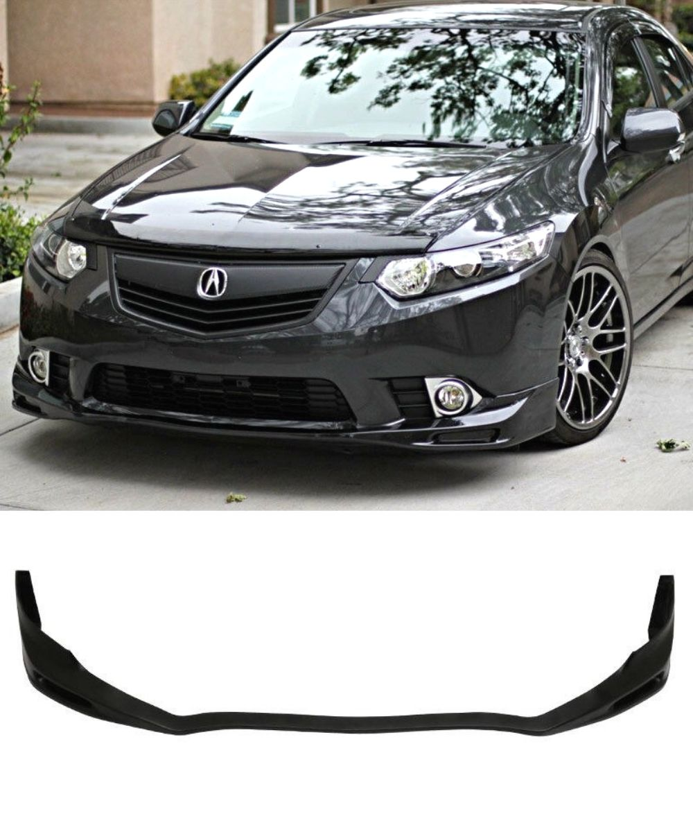 Honda Accord Euro CU2 - Front Lip (Type S Style) (11-14) - ELITE GARAGE