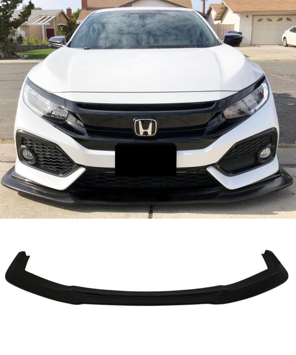 Honda Civic RS FK7- Front Lip (GT Style) (17-19) - ELITE GARAGE