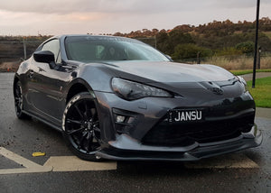 Toyota 86 Facelift - Front Lip (GT STYLE) (17-18)