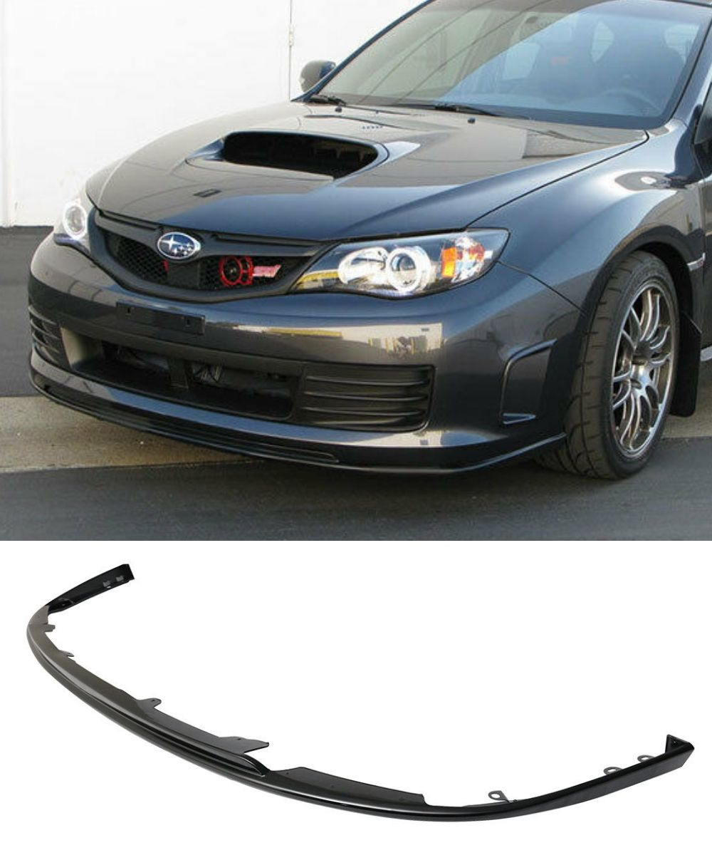 Subaru Impreza WRX STI Widebody - Front Lip (STI STYLE) (08-10) - ELITE GARAGE