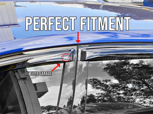 Honda Civic FD2 MUGEN (06-11) Window Visors / Weathershields / Weather Shields - ELITE GARAGE