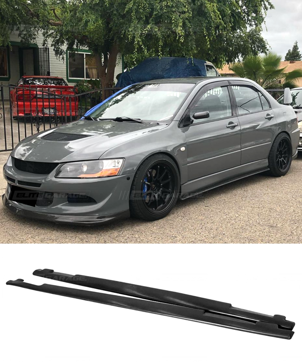 Mitsubishi Lancer Evolution 7/8/9  - Side Skirt Extension (OE Style)