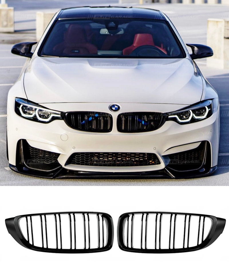 BMW M3/M4 - Grill Replacement (GLOSS BLACK) - ELITE GARAGE