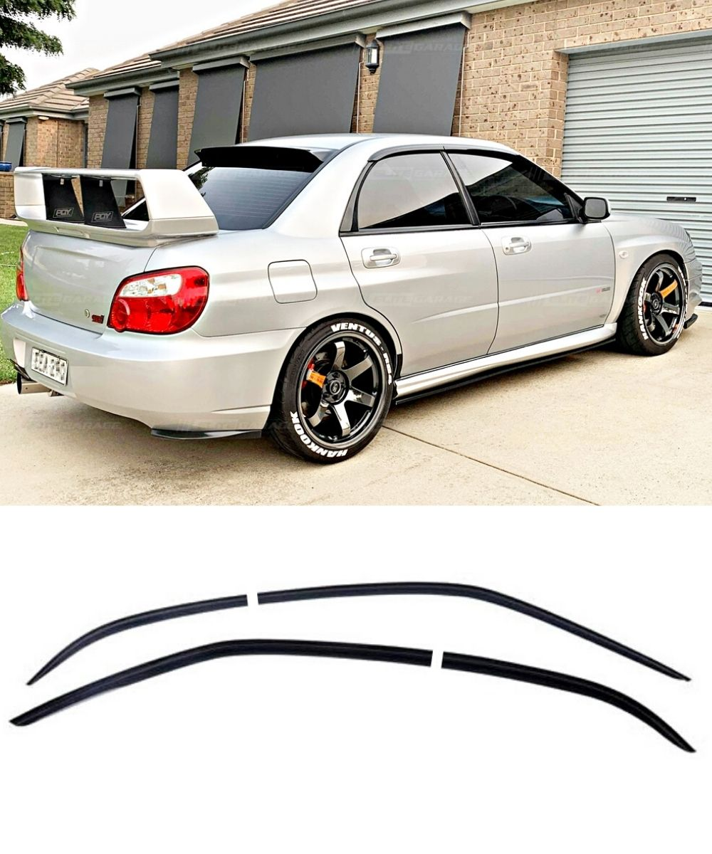 Subaru Impreza WRX STI (00-07) Window Visors / Weathershields / Weather Shields - ELITE GARAGE