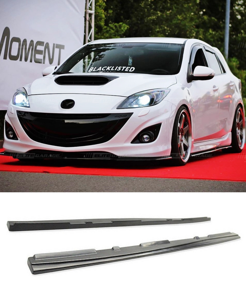 Mazda 3 MPS BL - MS Style Side Skirts (09-13) - ELITE GARAGE