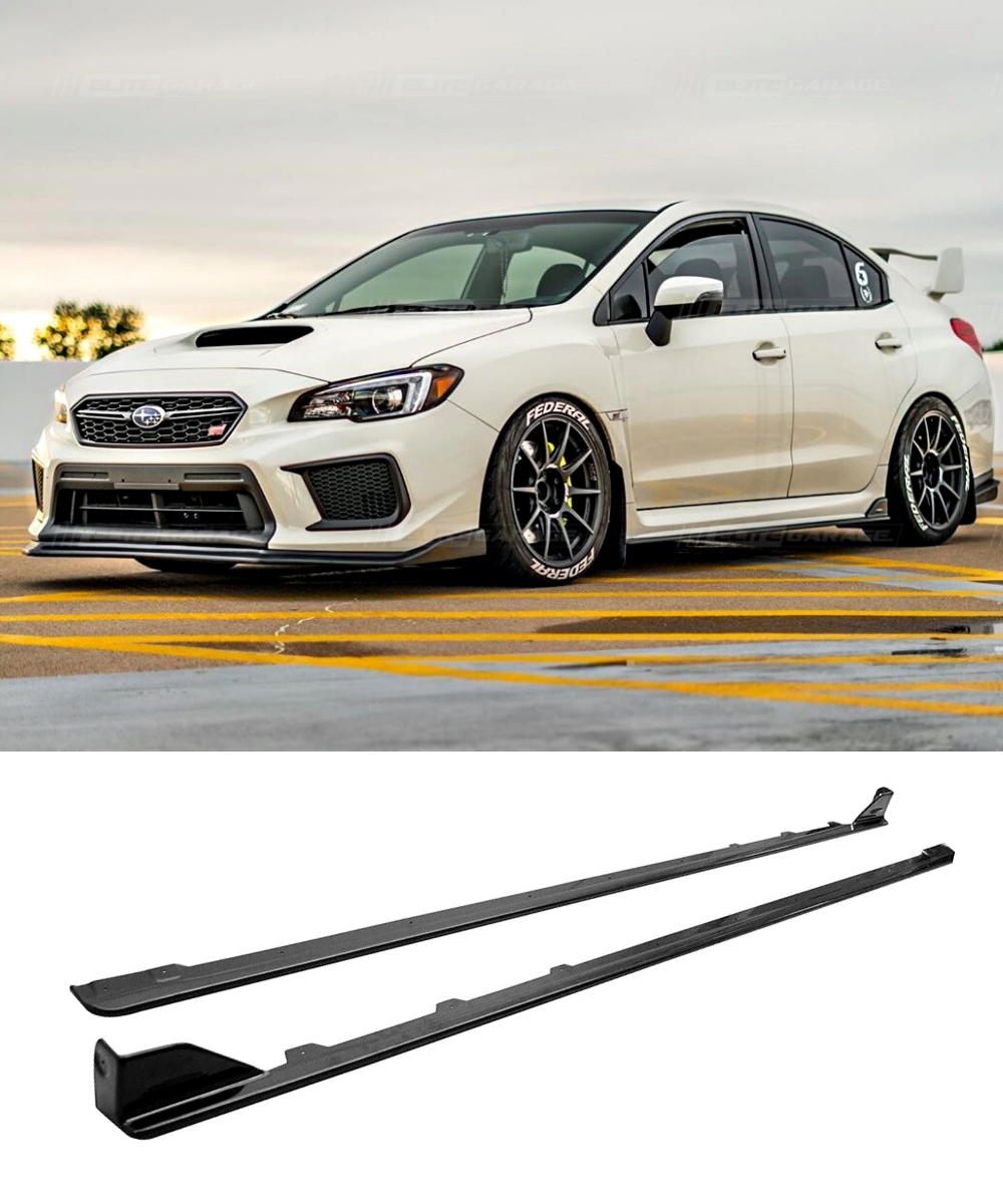 Subaru WRX STI - Side Skirts (STI STYLE) (14-19) - ELITE GARAGE