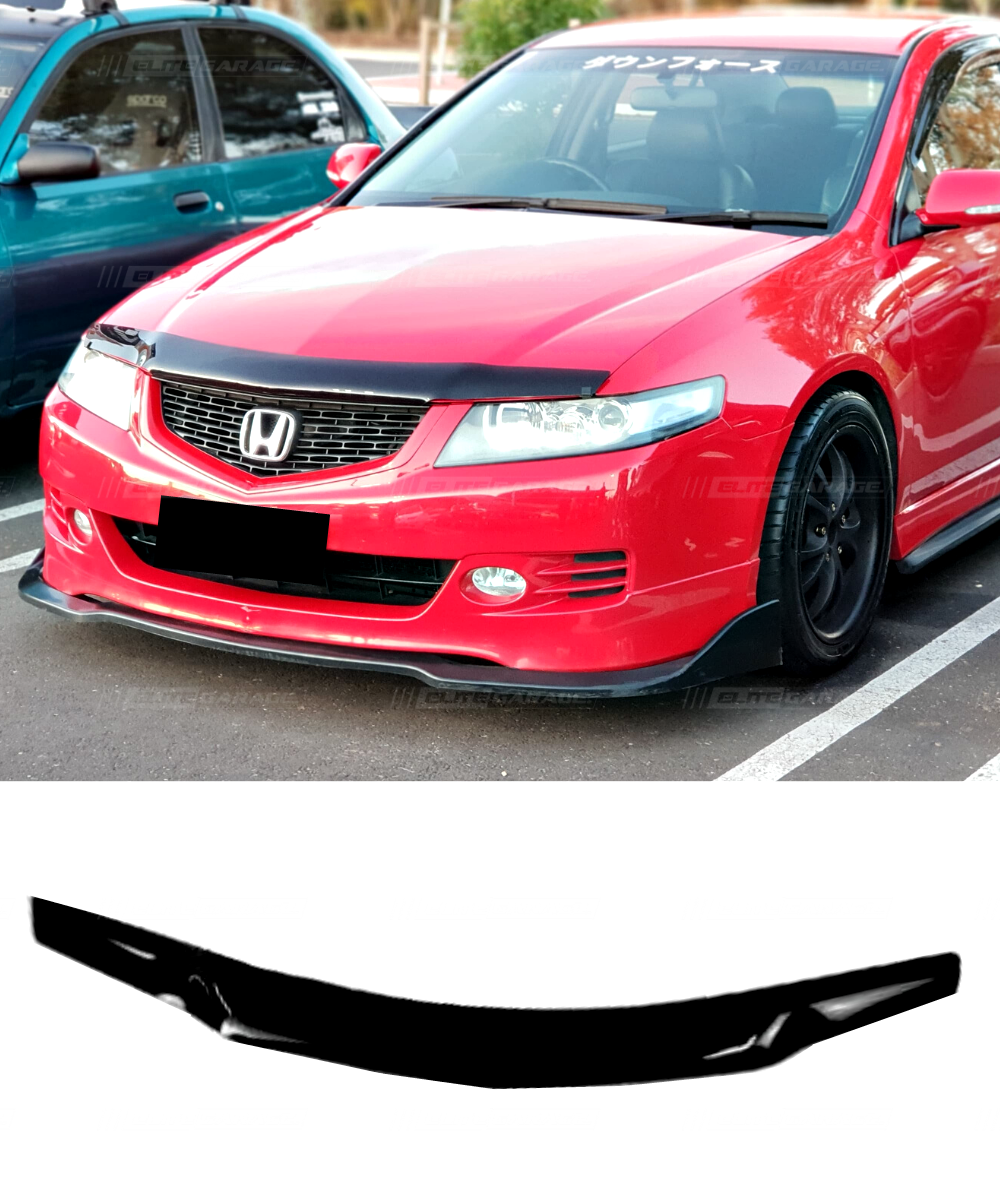 Honda Accord Euro CL9 (05-07) Front Bonnet Guard Visor Weathershields - ELITE GARAGE