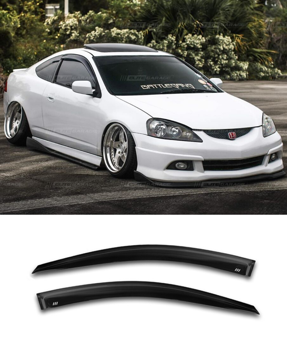 Honda Integra DC5 (01-06) Window Visors / Weathershields / Weather Shields - ELITE GARAGE