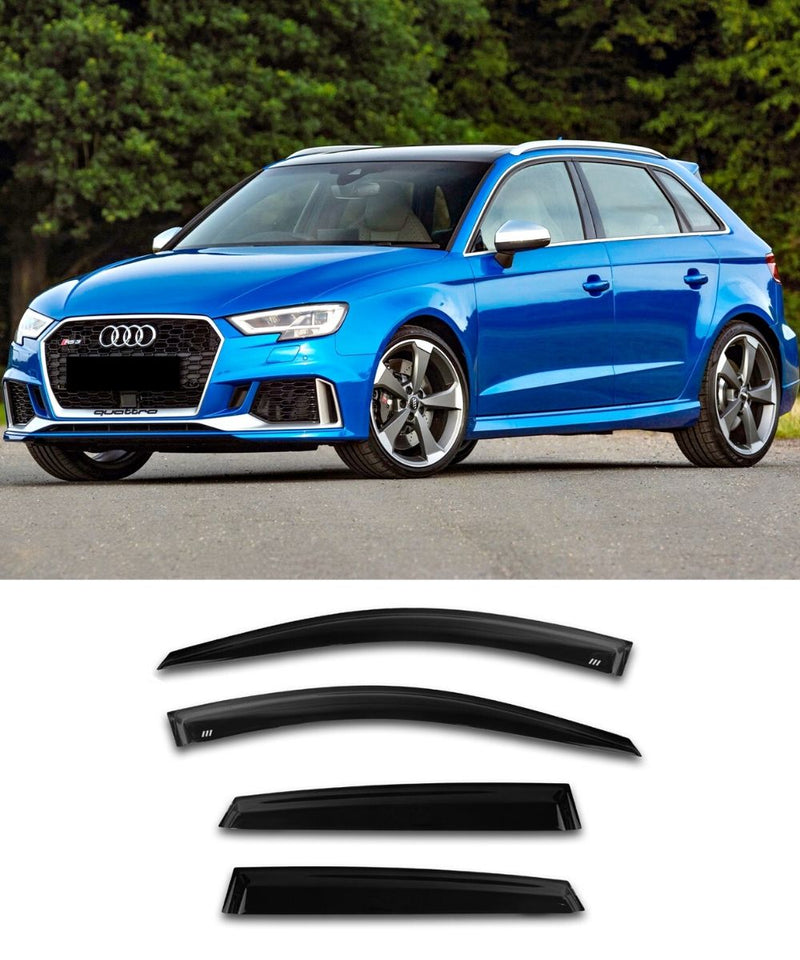 Audi A3/S3/RS3 Hatchback (13-20) Window Visors / Weathershields / Weather Shields - ELITE GARAGE