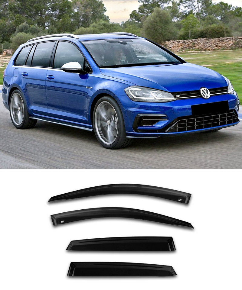 Volkswagen Golf MK7 MK7.5 WAGON - Side Visors (Elite Garage)
