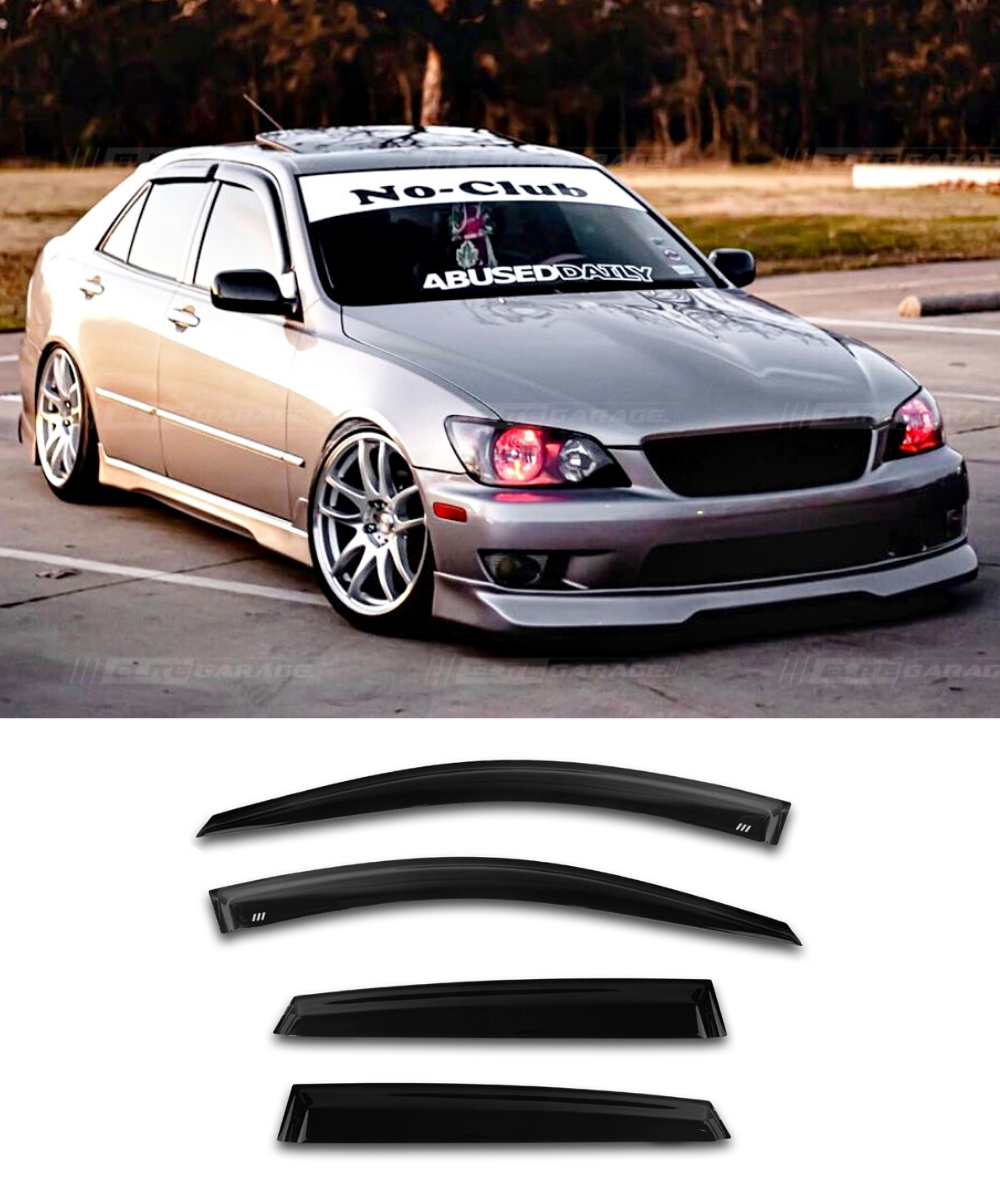 Lexus IS200 IS300 Altezza (98-05) Window Visors / Weathershields / Weather Shields - ELITE GARAGE