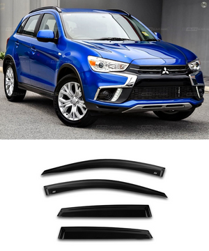 Mitsubishi ASX (10-18)  Window Visors / Weathershields / Weather Shields - ELITE GARAGE