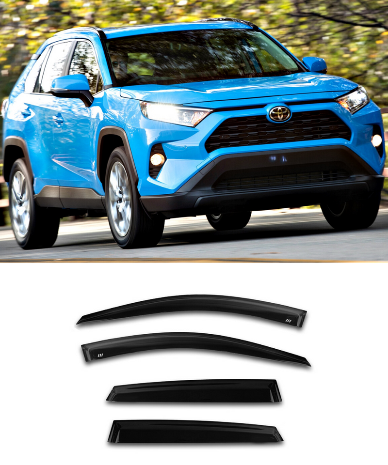 Toyota RAV4 (19-20) Window Visors / Weathershields / Weather Shields - ELITE GARAGE