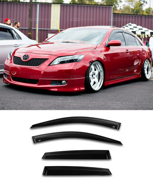 Toyota Camry Sportivo (06-11) Window Visors / Weathershields / Weather Shields - ELITE GARAGE