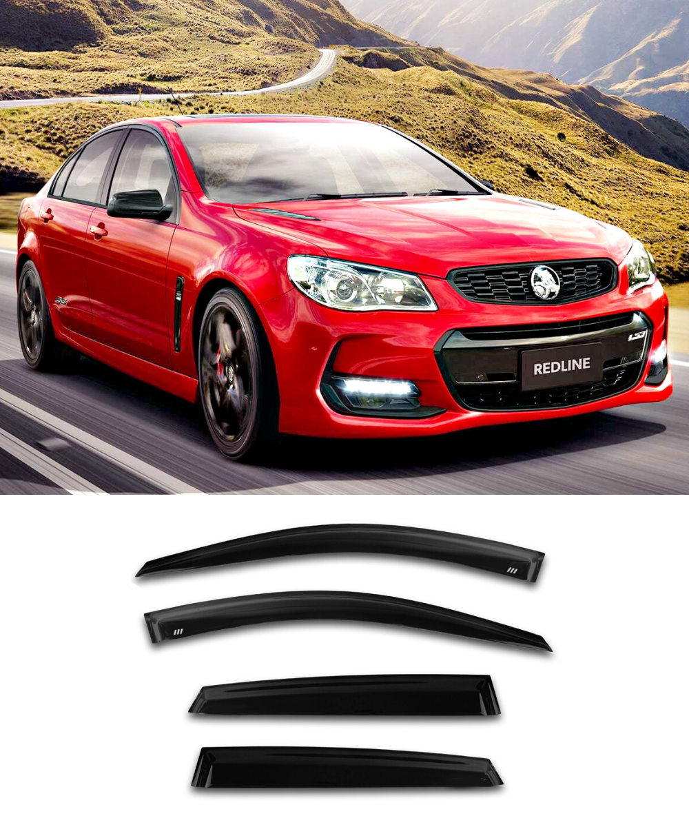 Holden Commoodore VE VF (06-17) Window Visors / Weathershields / Weather Shields - ELITE GARAGE