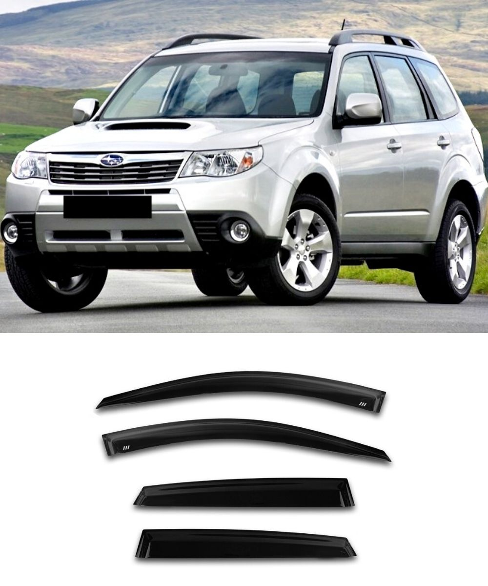 Subaru Forester SH (08-12) Window Visors / Weathershields / Weather Shields - ELITE GARAGE