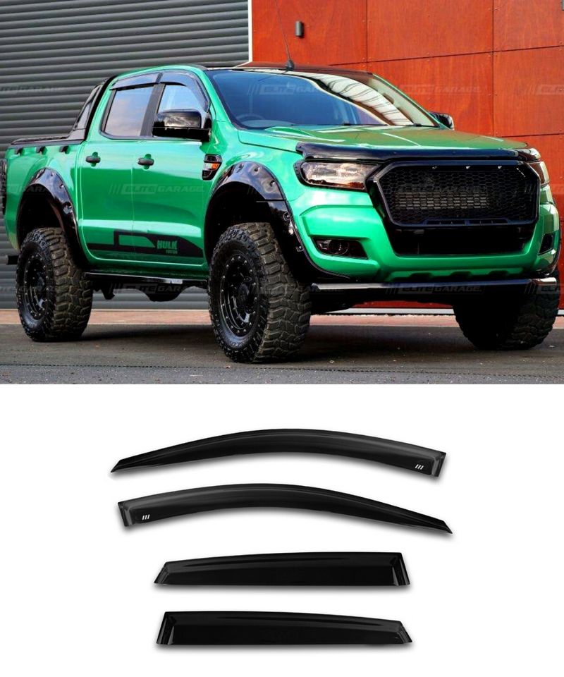 Ford Ranger - Side Visors (11-19) (Elite Garage) - ELITE GARAGE