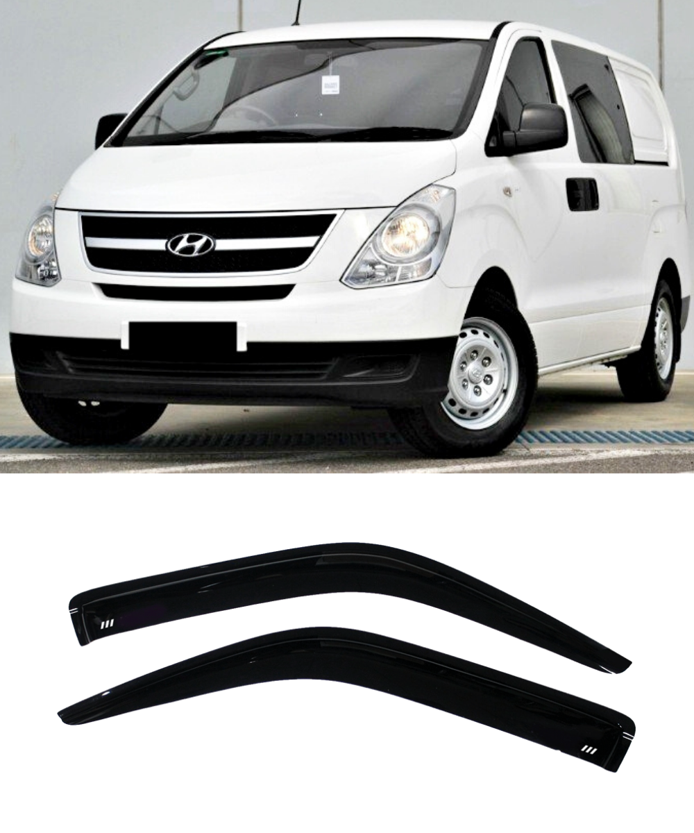 Hyundai iLOAD (07-17) Window Visors / Weathershields / Weather Shields - ELITE GARAGE