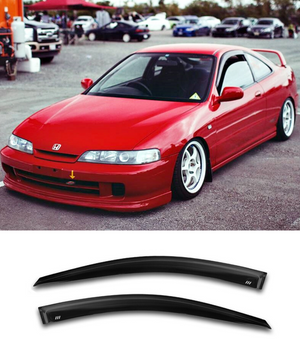 Honda Integra DC2 DC4 (93-01) Window Visors / Weathershields / Weather Shields - ELITE GARAGE
