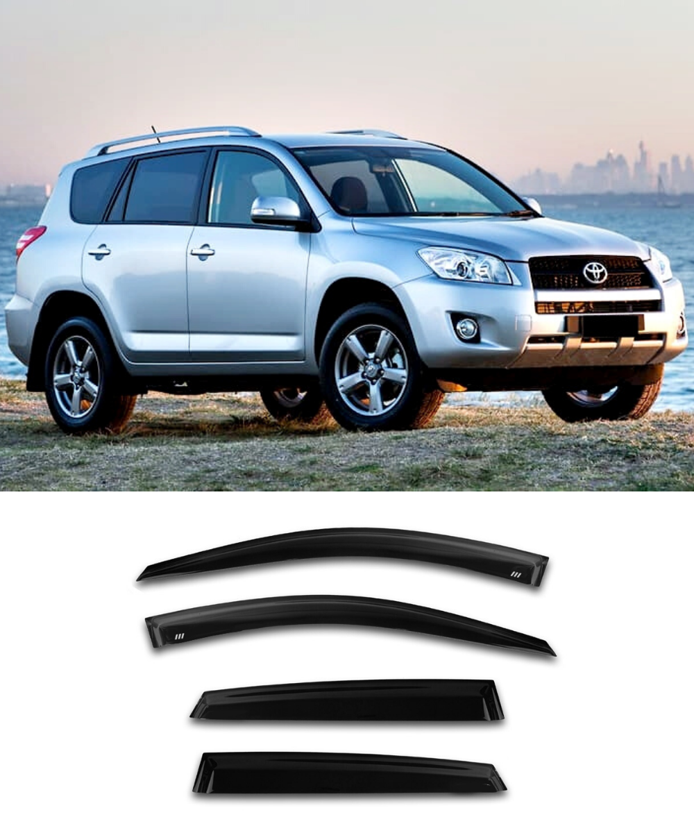 Toyota RAV4 (06-12) Window Visors / Weathershields / Weather Shields - ELITE GARAGE