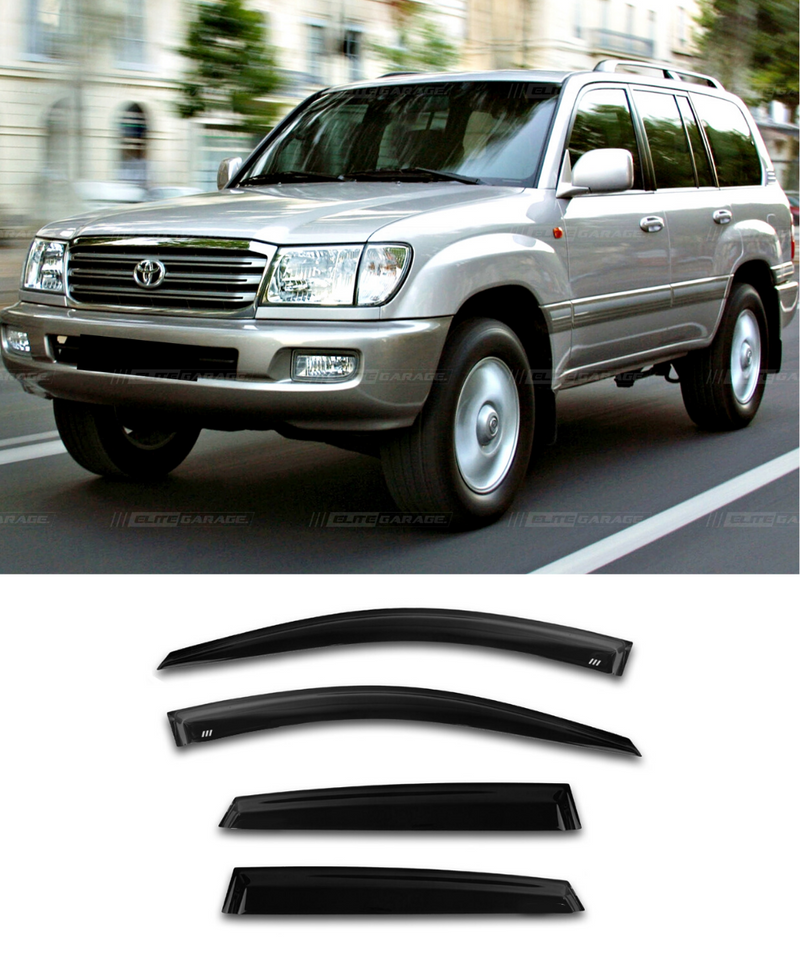 Toyota Land Cruiser J100 - Side Visors (98-07) (Elite Garage) - ELITE GARAGE