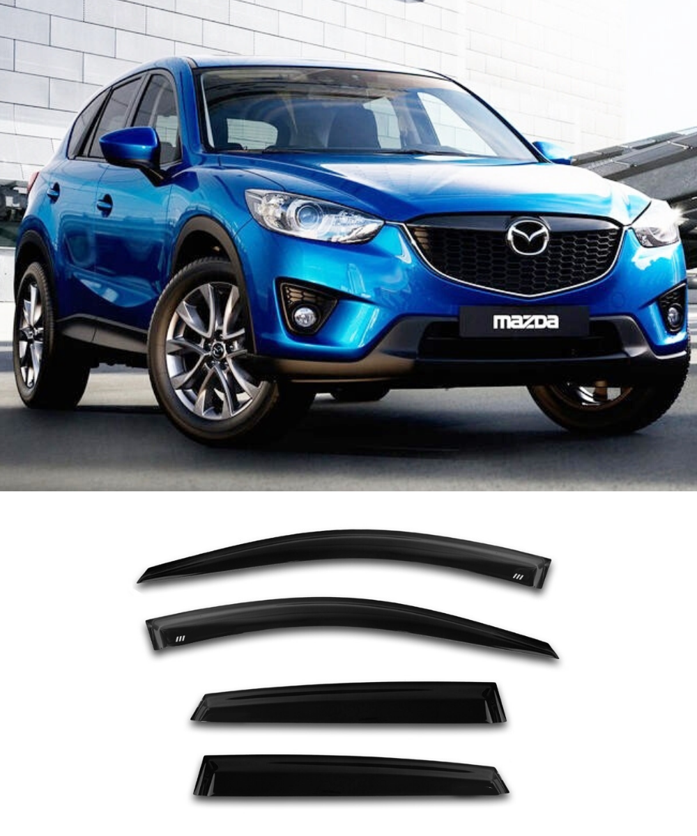Mazda CX-5 (12-17) Window Visors / Weathershields / Weather Shields - ELITE GARAGE