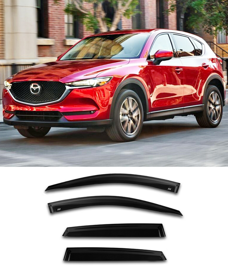 Mazda CX-5 (18-19) Window Visors / Weathershields / Weather Shields - ELITE GARAGE