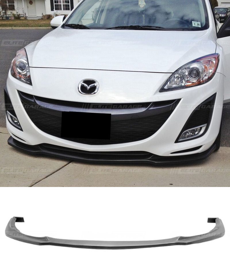 Mazda 3 BL - Front Lip Hatch & Sedan NON MPS (10-11) - ELITE GARAGE