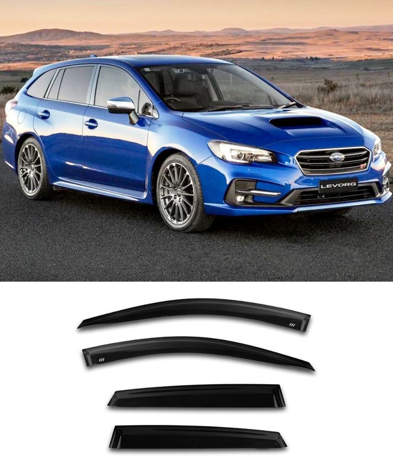 Subaru Levorg Wagon (14-18) Window Visors / Weathershields / Weather Shields - ELITE GARAGE