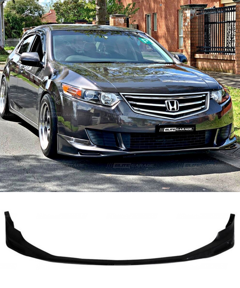 Honda Accord Euro CU2 - Front Lip (Type S Style) (08-11) - ELITE GARAGE