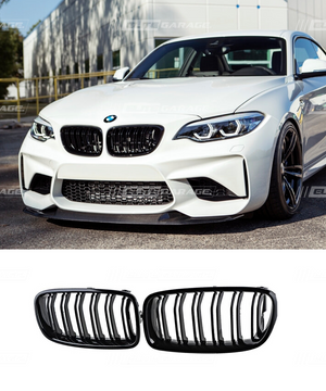 BMW 2 Series F22 F23 F87 M2 - Grill Replacement (GLOSS BLACK) - ELITE GARAGE