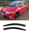 Honda Civic FN2 FN2R Window Visors / Weathershields / Weather Shields - ELITE GARAGE