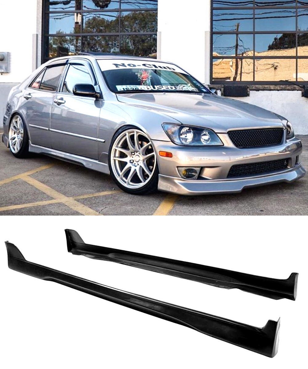 Lexus IS200 IS300 Altezza - TRD Style Side Skirts (98-05) - ELITE GARAGE
