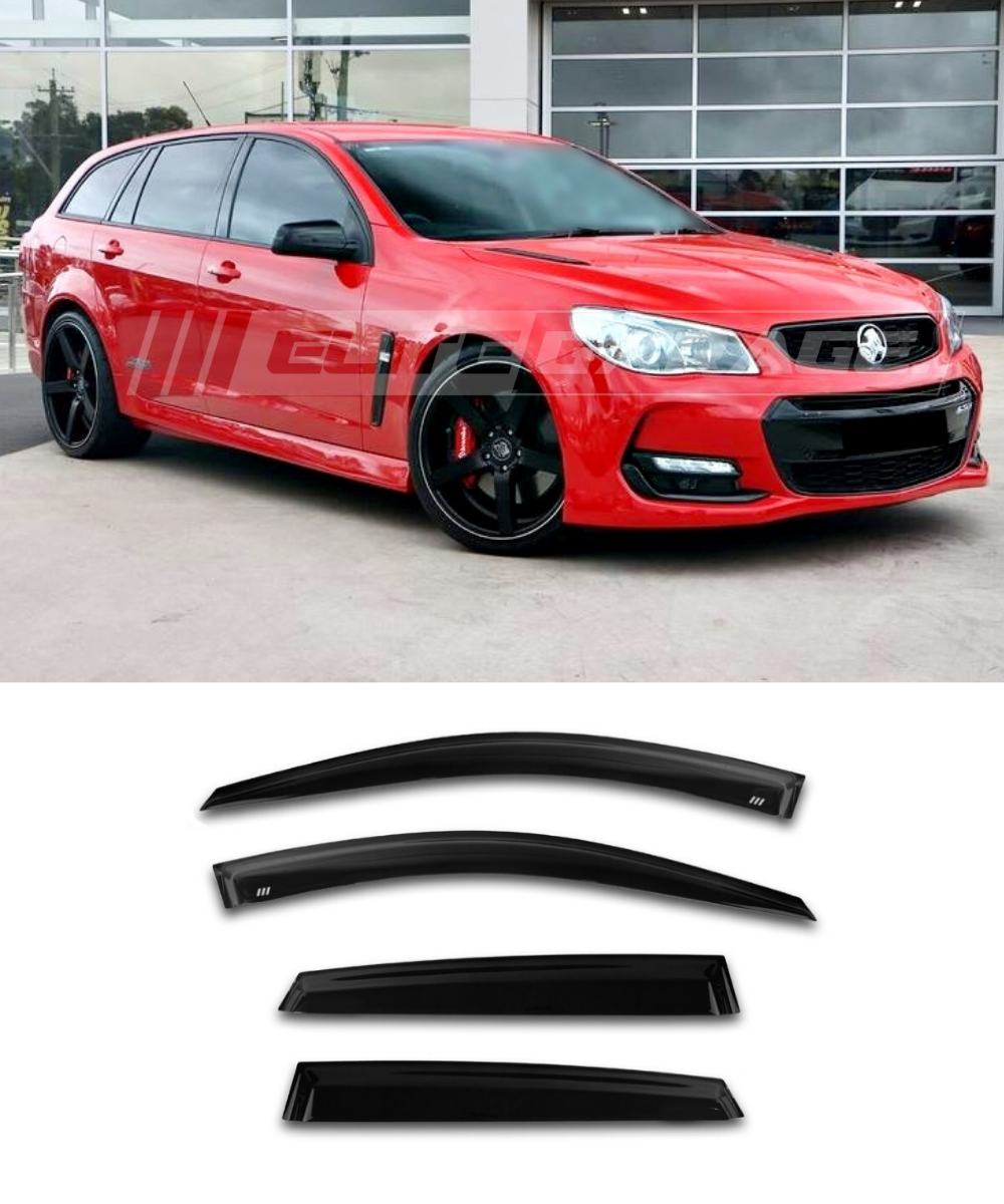 Holden Commoodore VE VF WAGON (06-17) Window Visors / Weathershields / Weather Shields - ELITE GARAGE