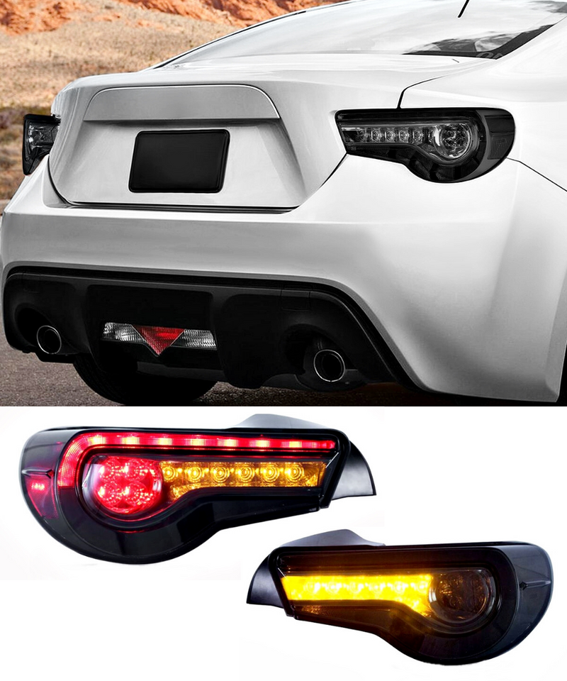 Toyota 86 / Subaru BRZ - Rear Sequential Tail Lights Smoked (12-19) - ELITE GARAGE