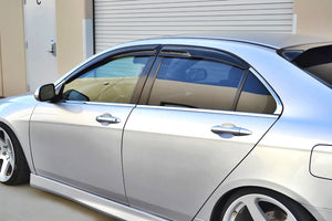 Honda Accord Euro CL9 MUGEN (04-07) Window Visors / Weathershields / Weather Shields - ELITE GARAGE