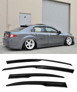 Honda Accord Euro CU2 MUGEN (08-15) Window Visors / Weathershields / Weather Shields - ELITE GARAGE