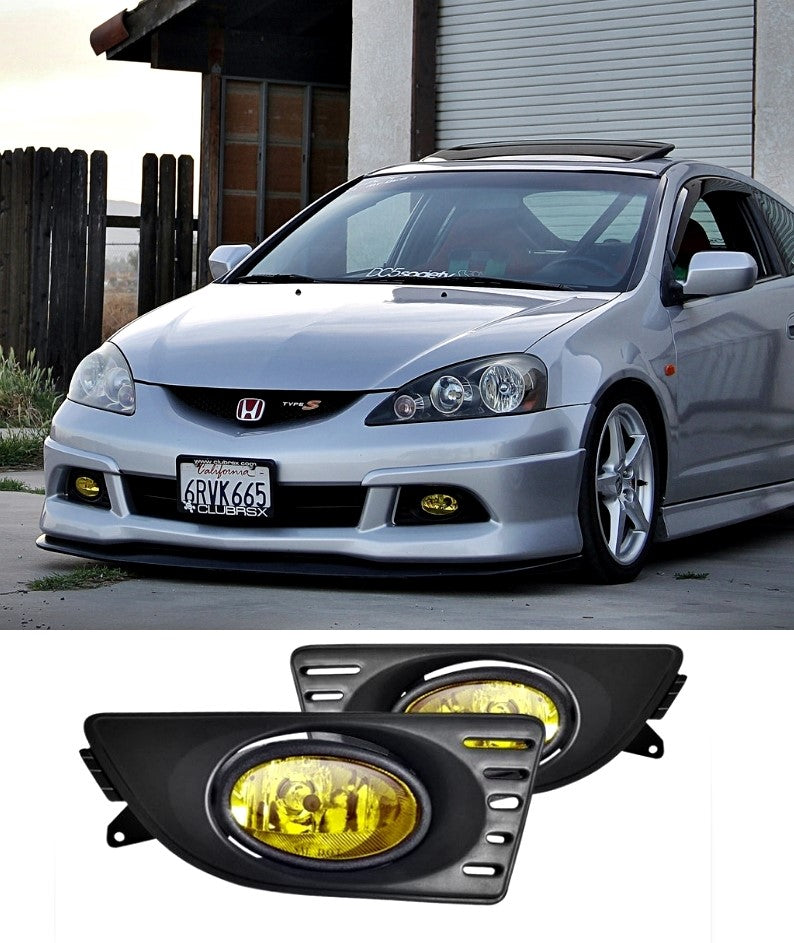 Honda Integra DC5 Facelift - Fog Lights (YELLOW) (05-06) - ELITE GARAGE